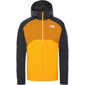 The North Face Stratos Chaqueta Hombre, summit gold/TNF black/citrine yellow